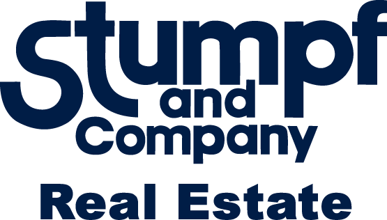 Stumpf and Company logo with the word real estate