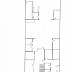 1250 Fulton St. - Top floor office floor plan
