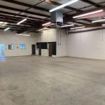 1330 Hulbert Ave., Ste. 101, Fresno. Warehouse space. Facing front office and two private restrooms.