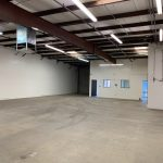 1330 Hulbert Ave., Ste. 101, Fresno - Warehouse space. Facing roll-up door and front office.