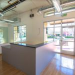 802 Van Ness Ave., Fresno. Interior photo of front desk.