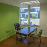 2210 San Joaquin St., Fresno. Interior. Smaller private office.