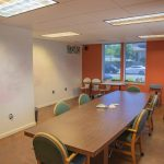 2210 San Joaquin St., Fresno. Interior. Conference room. Table and chairs.