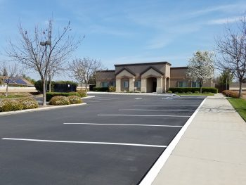 Photo of parking lot